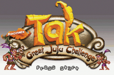 Tak - The Great Juju Challenge title screenshot
