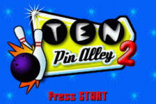 Ten Pin Alley 2 title screenshot