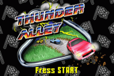 Thunder Alley title screenshot