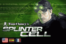 Tom Clancy's Splinter Cell title screenshot