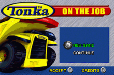 Tonka - On the Job title screenshot
