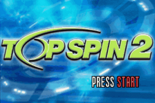 Top Spin 2 title screenshot