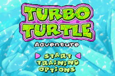Turbo Turtle Adventure title screenshot