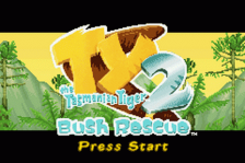Ty the Tasmanian Tiger 2 - Bush Rescue title screenshot