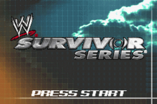 WWE - Survivor Series title screenshot