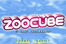 ZooCube title screenshot