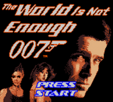 007 - The World Is Not Enough title screenshot
