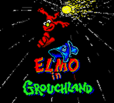 Adventures of Elmo in Grouchland, The title screenshot