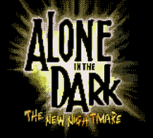 Alone in the Dark - The New Nightmare title screenshot