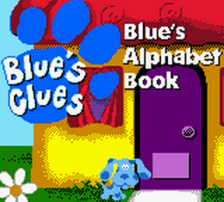 Blue's Clues - Blue's Alphabet Book title screenshot