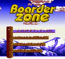 Boarder Zone title screenshot