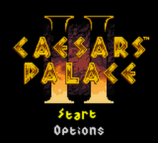 Caesars Palace II title screenshot