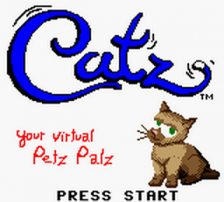 Catz - Your Virtual Petz Palz title screenshot