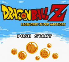 Dragon Ball Z - Legendary Super Warriors title screenshot