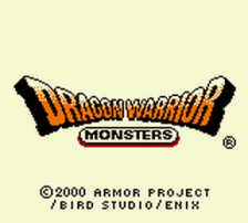 Dragon Warrior Monsters title screenshot