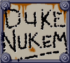 Duke Nukem title screenshot