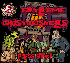 Extreme Ghostbusters title screenshot