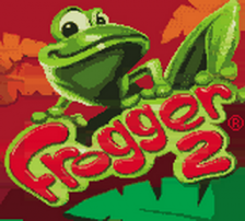 Frogger 2 title screenshot