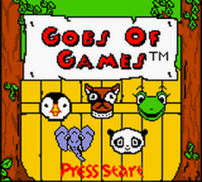 Gobs of Games title screenshot