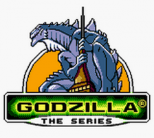 Godzilla - The Series title screenshot
