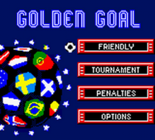Golden Goal title screenshot