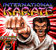 International Karate 2000 title screenshot