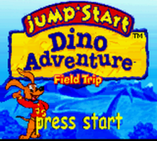 JumpStart Dino Adventure - Field Trip title screenshot