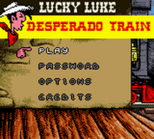 Lucky Luke - Desperado Train title screenshot