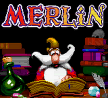 Merlin title screenshot