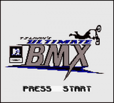 MTV Sports - T.J. Lavin's Ultimate BMX title screenshot