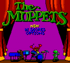 Muppets, The title screenshot