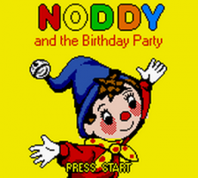 Noddy and the Birthday Party title screenshot