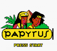 Papyrus title screenshot
