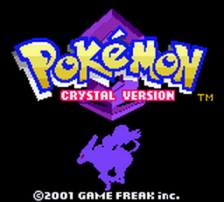 Pokemon - Crystal Version title screenshot