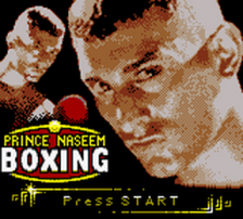 Prince Naseem Boxing title screenshot