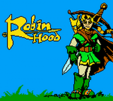 Robin Hood title screenshot