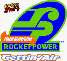 Rocket Power - Gettin' Air title screenshot