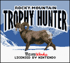 Rocky Mountain Trophy Hunter title screenshot