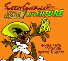 Speedy Gonzales - Aztec Adventure title screenshot