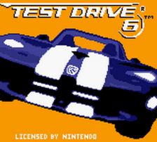 Test Drive 6 title screenshot
