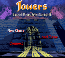 Towers - Lord Baniff's Deceit title screenshot