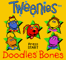 Tweenies - Doodles' Bones title screenshot