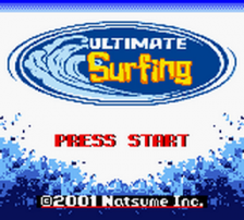 Ultimate Surfing title screenshot