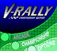 V-Rally - Championship Edition title screenshot