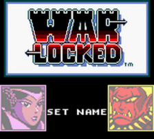 Warlocked title screenshot