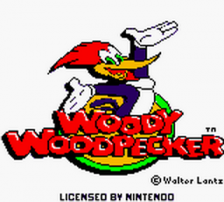 Woody Woodpecker title screenshot