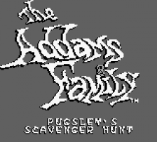 Addams Family, The - Pugsley's Scavenger Hunt title screenshot