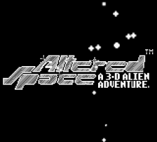 Altered Space - A 3-D Alien Adventure title screenshot