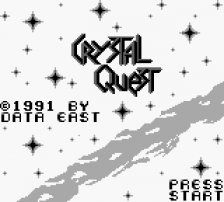 Crystal Quest title screenshot