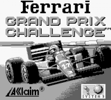 Ferrari Grand Prix Challenge title screenshot